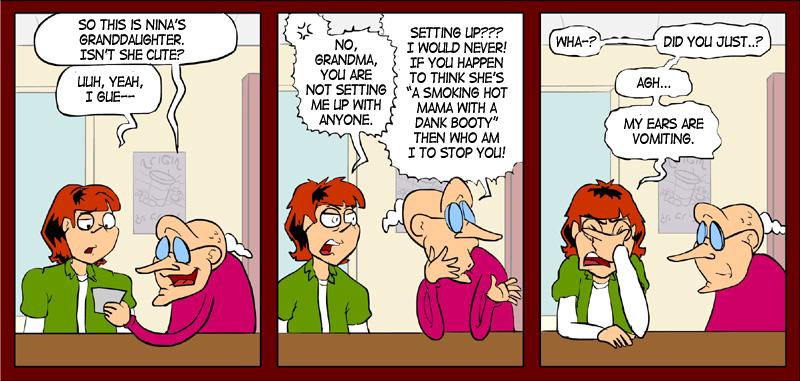 Grannies on line